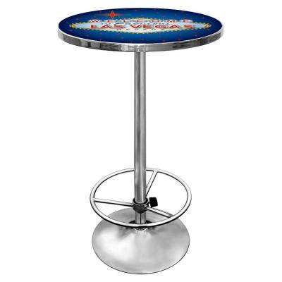 Las Vegas Chrome Pub/Bar Table