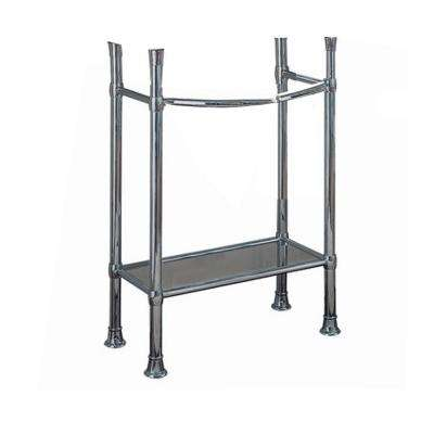 Superbe Retrospect Console Table Legs In Polished Chrome