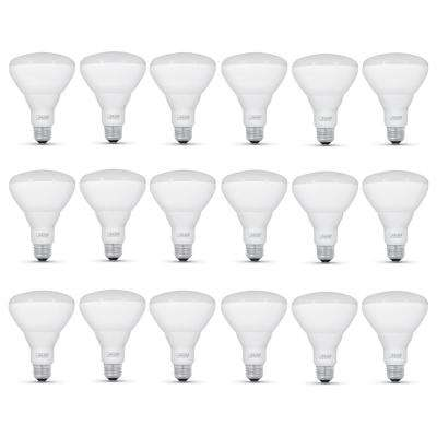65-Watt Equivalent BR30 Dimmable CEC Compliant E26 LED Flood Light Bulb, Soft White (18-Pack)