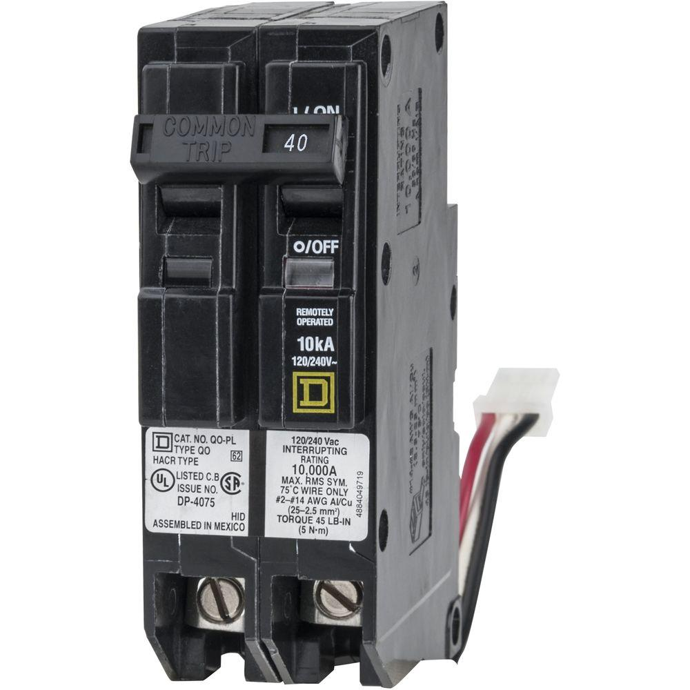 Square D Qo 40 Amp 1 5 In  2