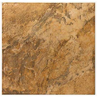 Taconic Slate Gold Summit 12 in. x 12 in. Porcelain Floor and Wall Tile (11 sq. ft. / case)
