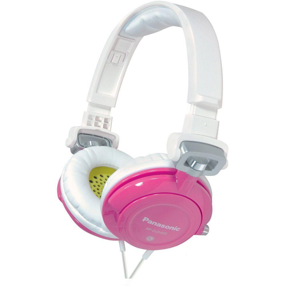 Panasonic DJ Street Model Headphones - Pink-DISCONTINUED