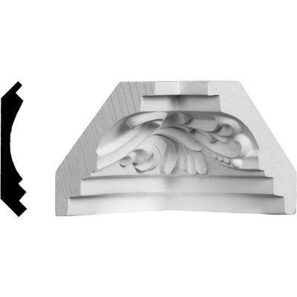 2-3/4 in. x 2-3/4 in. Polyurethane Inside Corner Moulding