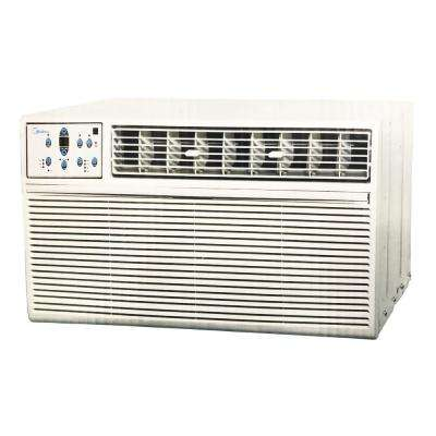 25,000 BTU 208-230-Volt Heat and Cool Window Air Conditioner with Remote in White