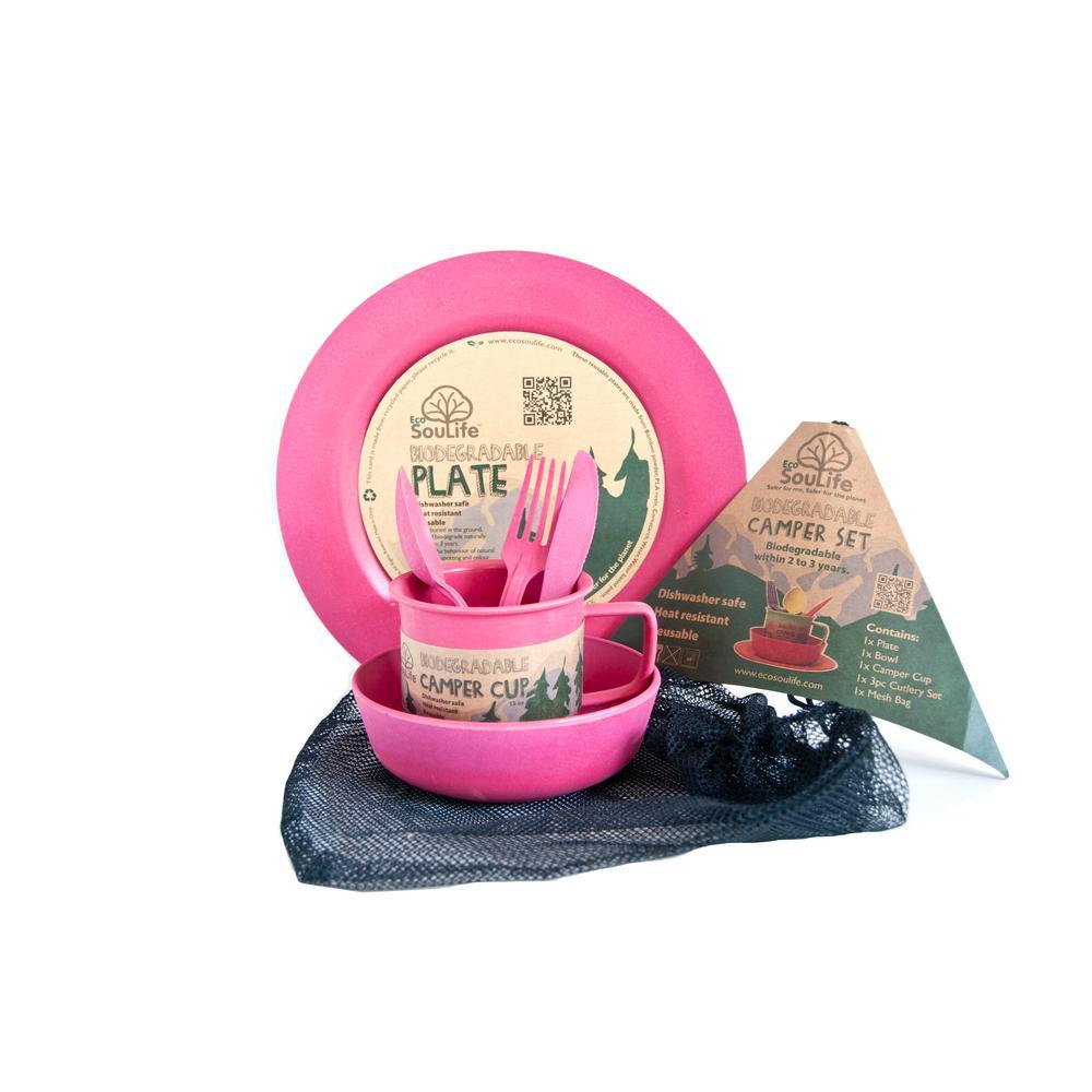 Pink Bamboo Set
