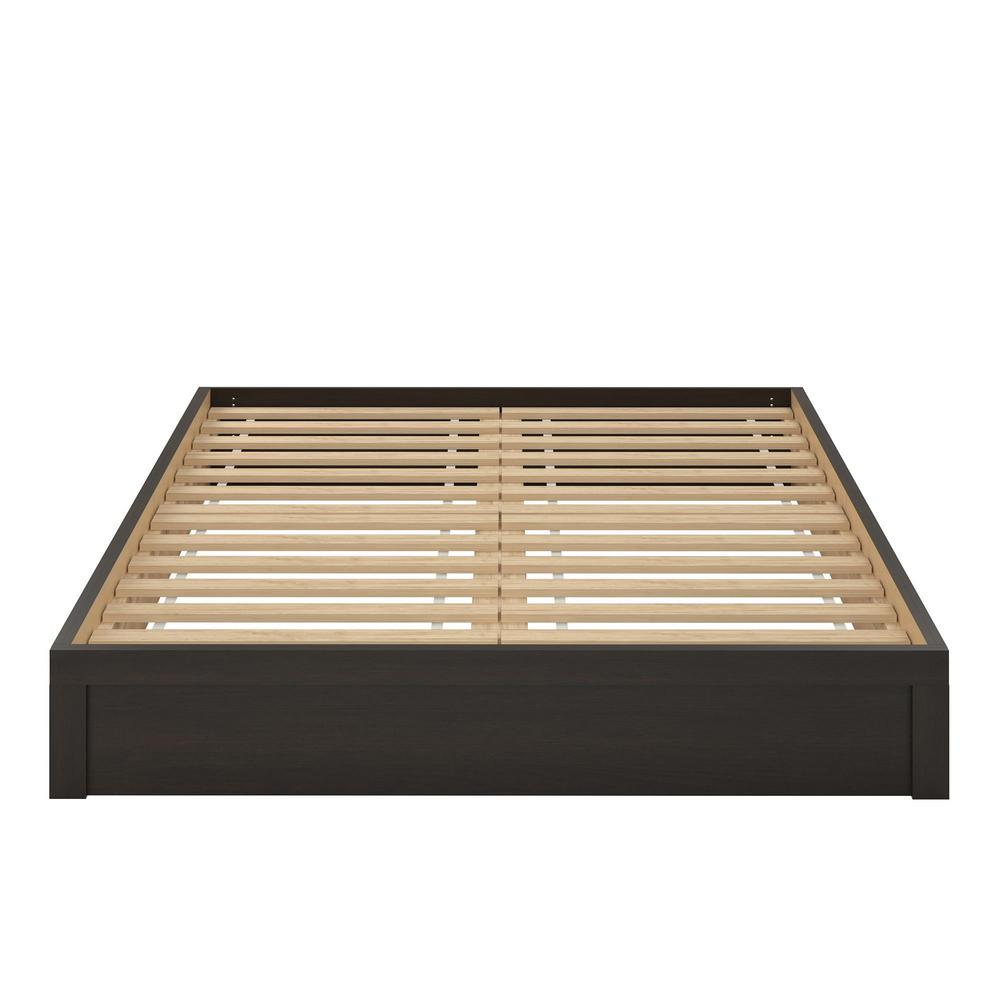 Arrowgate Platform Espresso Queen Size Bed Frame Hd77140 The Home