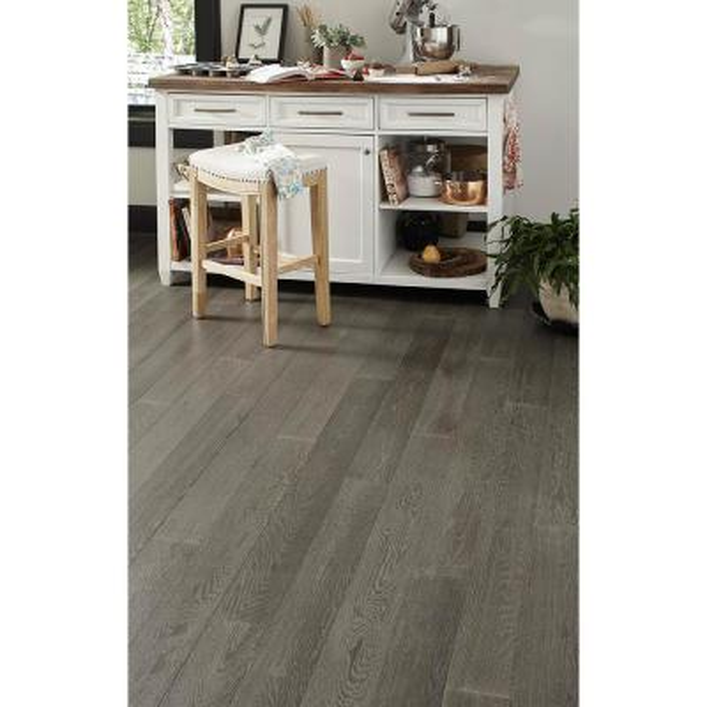 Timberlodge 0.28 in. T x 5 in. W x Varying Length Waterproof Engineered Hardwood Flooring (16.68 sq. ft. / case)