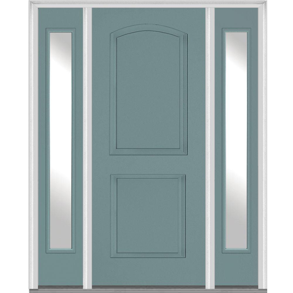 Single Door With Sidelites Front Doors Exterior Doors