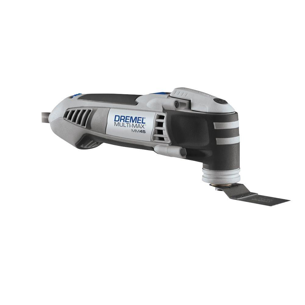 oscillating tool. dremel factory reconditioned multi-max corded oscillating tool kit c