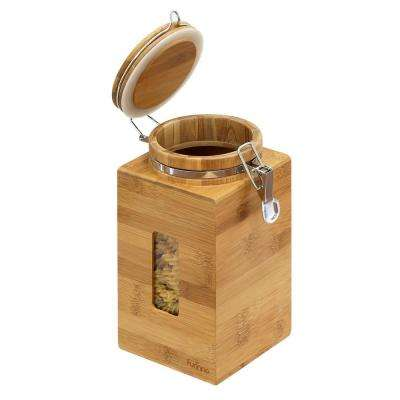 DaPur Tall Natural Bamboo Tight Canister