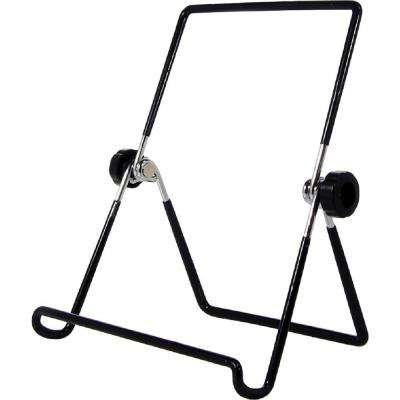 Barkan Black Foldable Tablet Stand for Vertical and Horizontal Positions