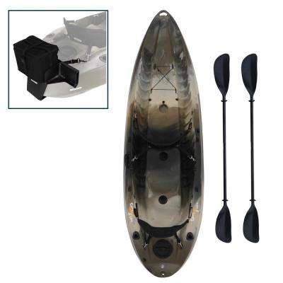 120 in. Camo Sport Fisher with Motor Mount