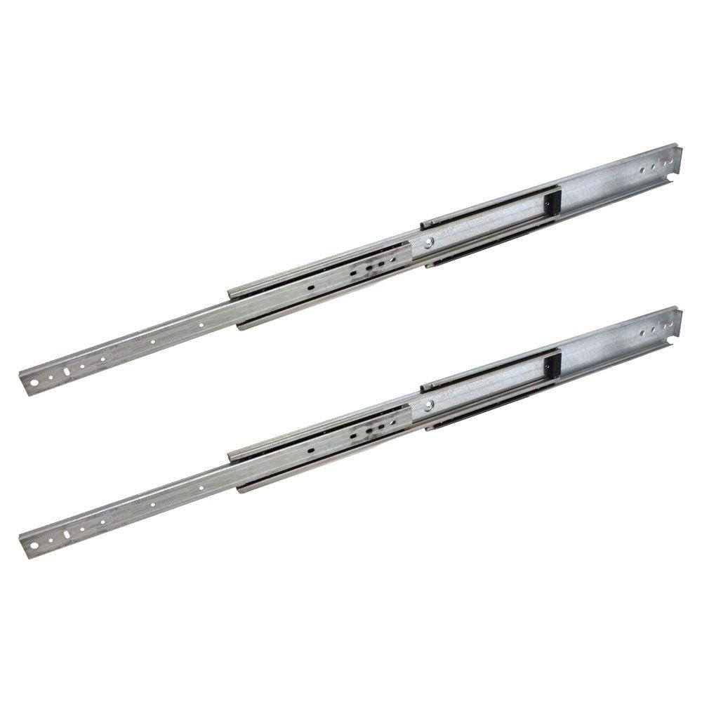 Industrial Duty Full Extension Ball Bearing Side Mount Drawer Slide