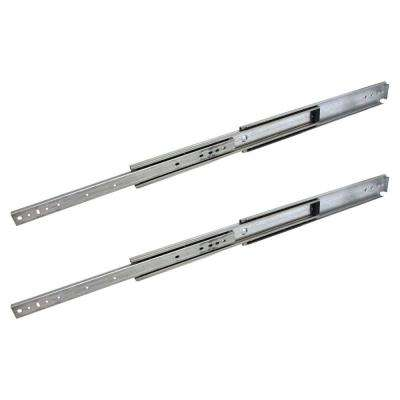 34 in. Industrial Duty Full Extension Ball Bearing Side Mount Drawer Slide