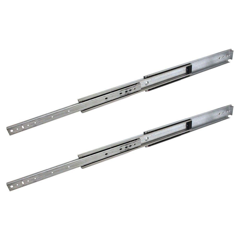 industrial duty full extension ball bearing side mount drawer slide