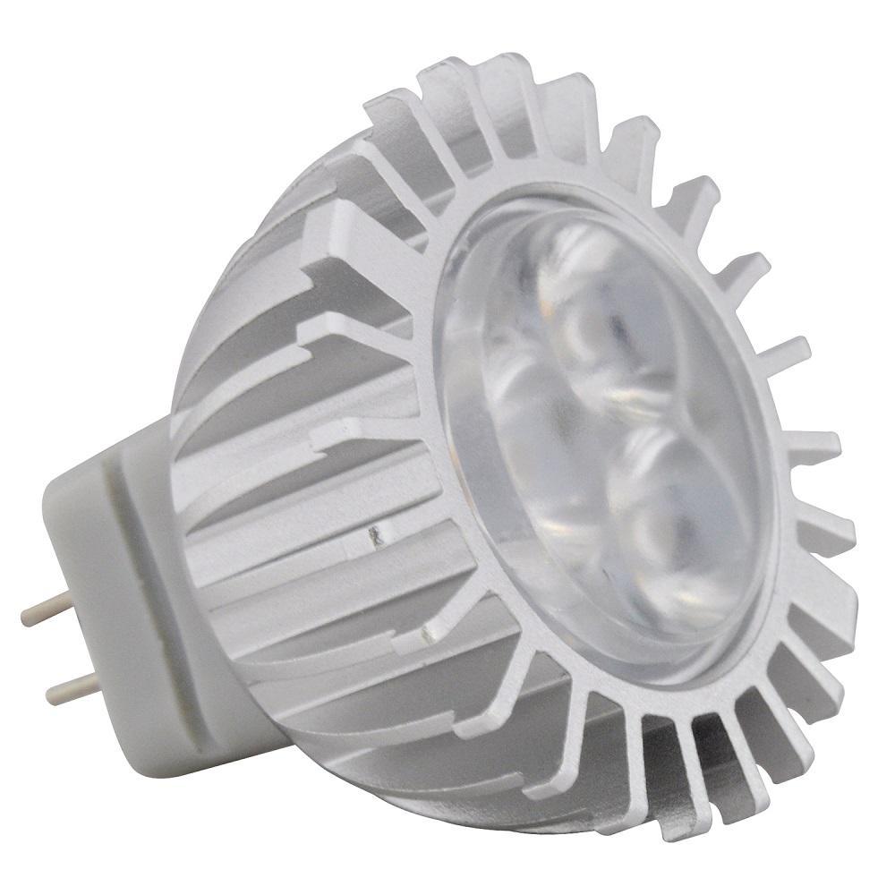 20-Watt Equivalent 3-Watt MR11 Dimmable LED Flood 30 Degree 10-18V Light Bulb GU4 Warm White 2700K 81093