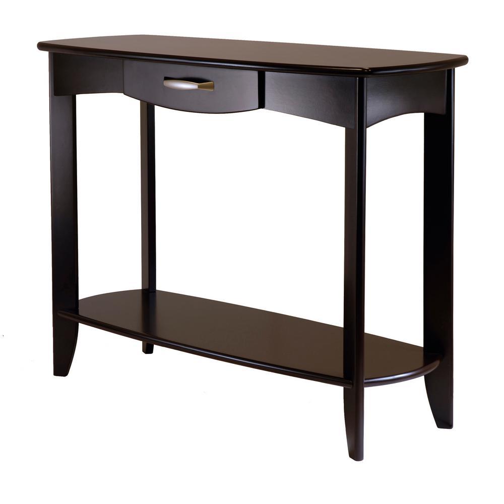 Winsome Wood Danica Espresso Console Table
