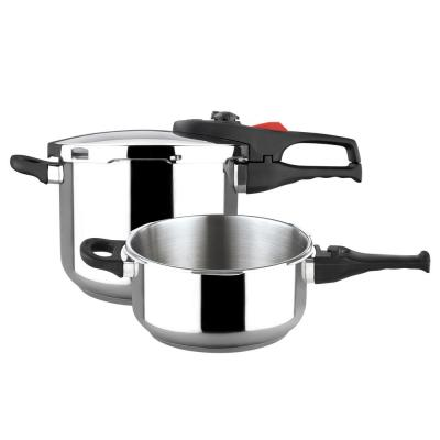Practika Plus 6.3 Qt. Stainless Steel Stovetop Pressure Cookers
