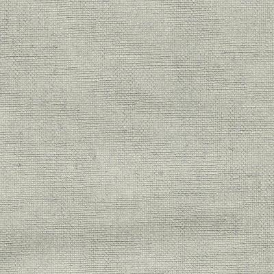 8 in. x 10 in. Leyte Silver Grass Cloth Wallpaper Sample