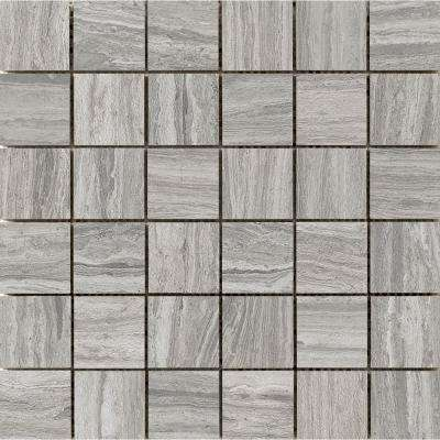 Terrane Gray 1173 In X 10 Mm Porcelain Mesh Mounted