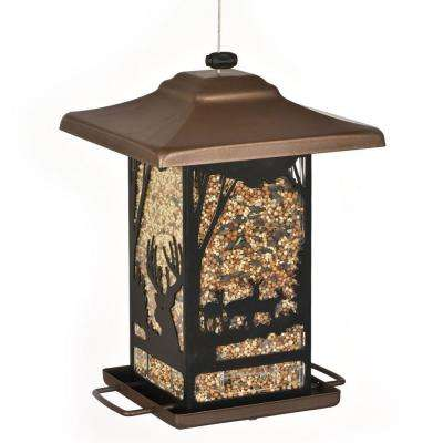 Wilderness Lantern Bird Feeder
