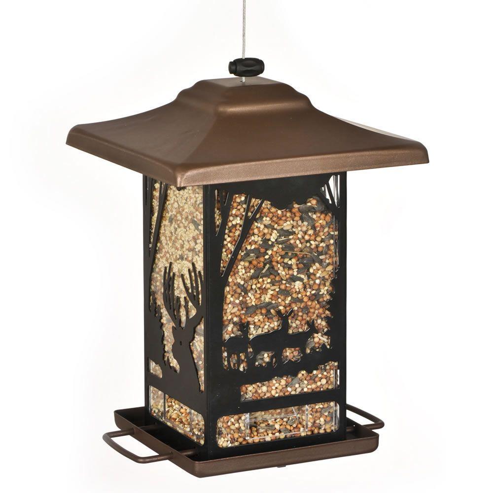 Wilderness Lantern Bird Feeder