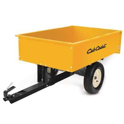 1000 lb. Capacity 12 cu. ft. Steel Dump Cart