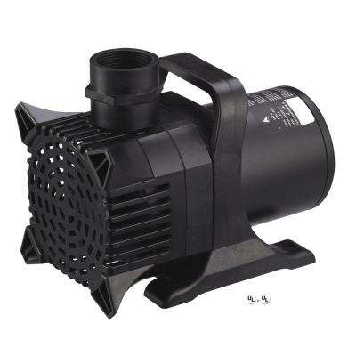 Maxflo 12,000 - 3,200 GPH Pond and Waterfall Pump for Water Gardening