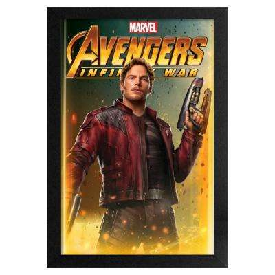 Avengers - Infinity War - Star Lord 11x17 Framed Print