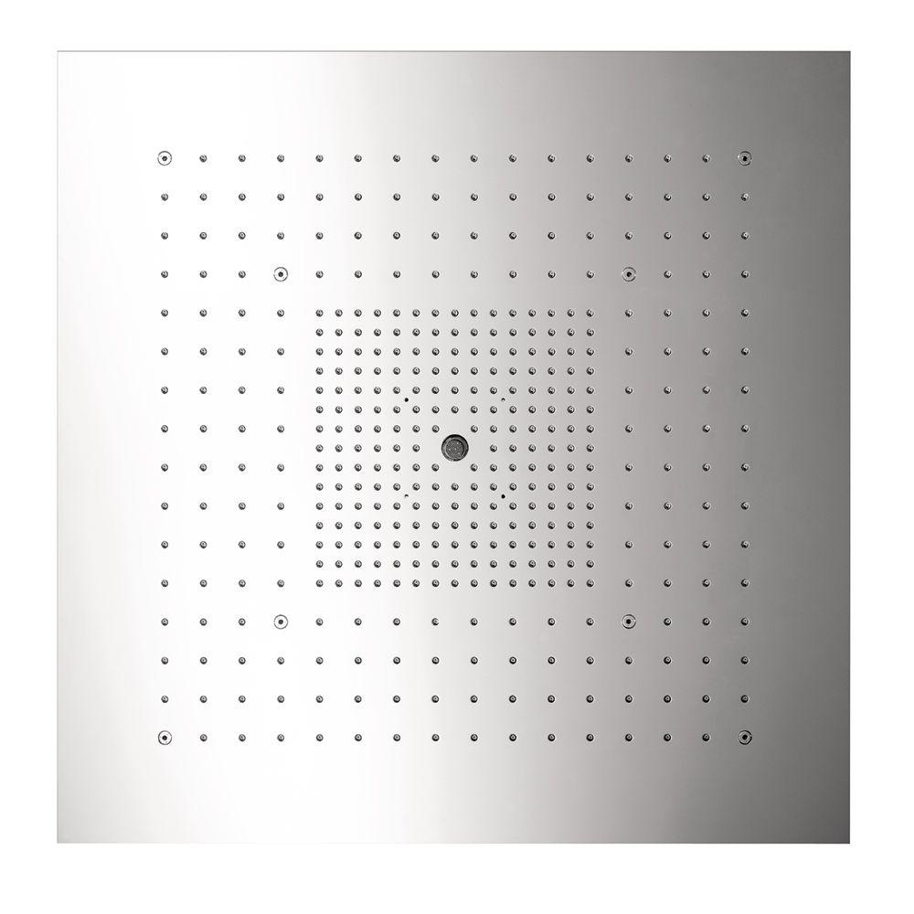Hansgrohe Axor Starck Shower Heaven 3-Spray 28 in. Showerhead in Polished Stainless Steel