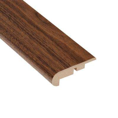 Coronado Walnut 7/16 in. Thick x 2-1/4 in. Wide x 94 in. Length Laminate Stairnose Molding