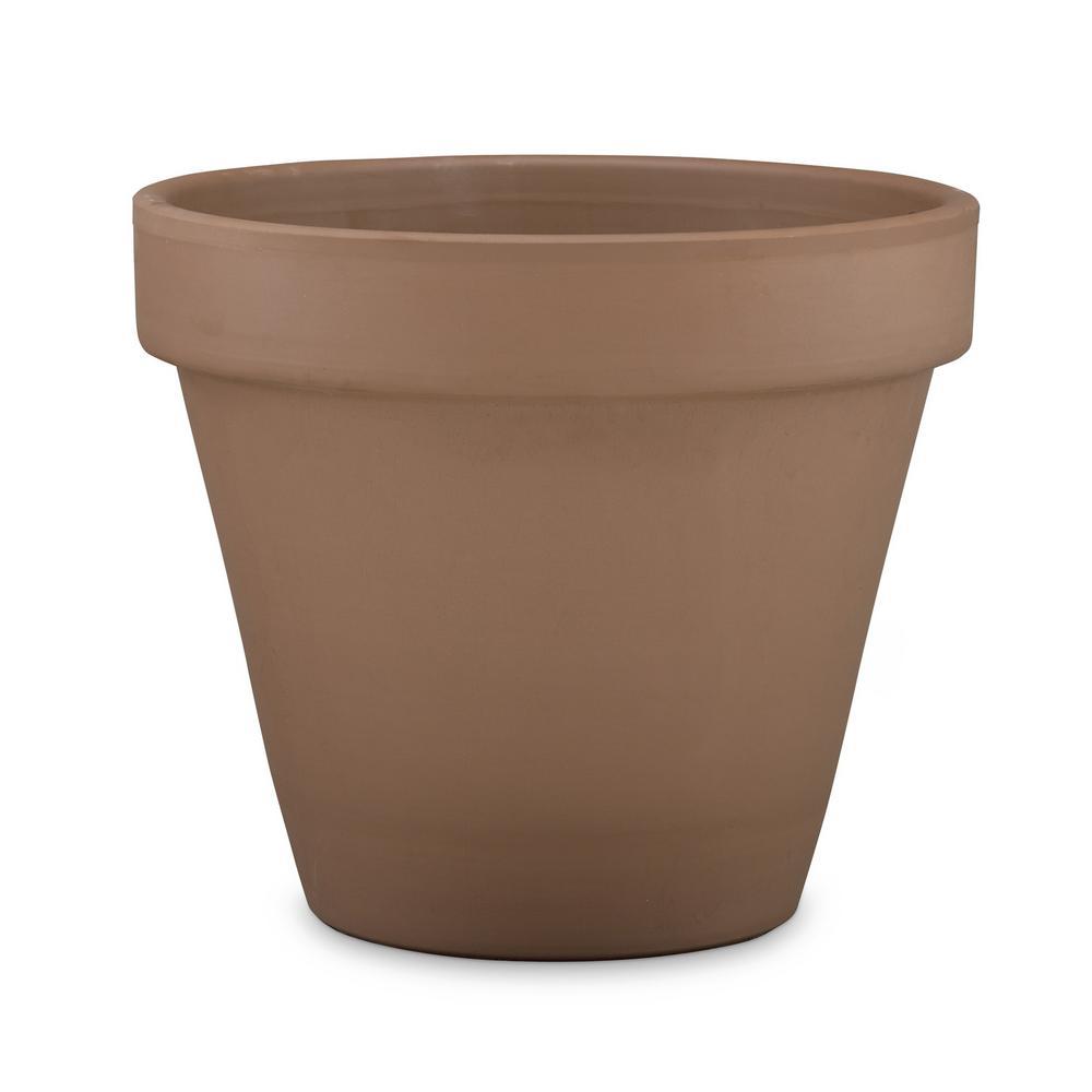 6.5 in. Chocolate Terra Cotta Pot