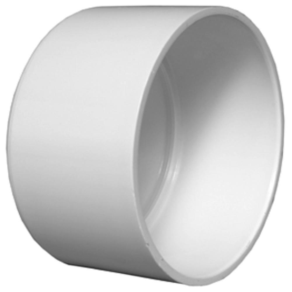 10 in. DWV PVC Cap