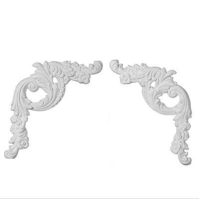 1 in. x 16 in. x 18 in. Floral Polyurethane Panel Moulding