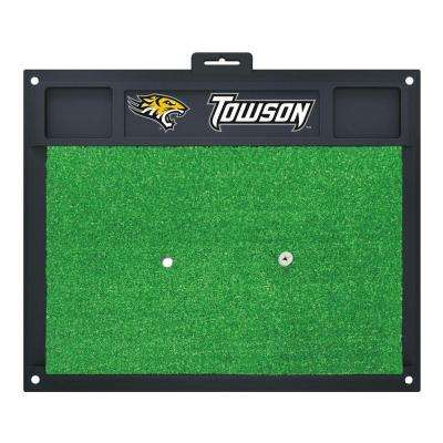 NCAA Towson University 17 in. x 20 in. Golf Hitting Mat