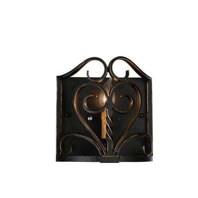 Branch 1-Light Autumn Bronze Sconce