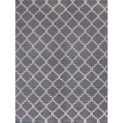 Hastings Pewter Gray 8 ft. x 10 ft. Indoor/Outdoor Area Rug