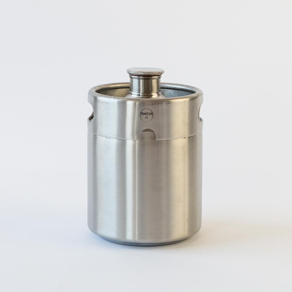 64 oz. Stainless Steel Grab N Go Keg
