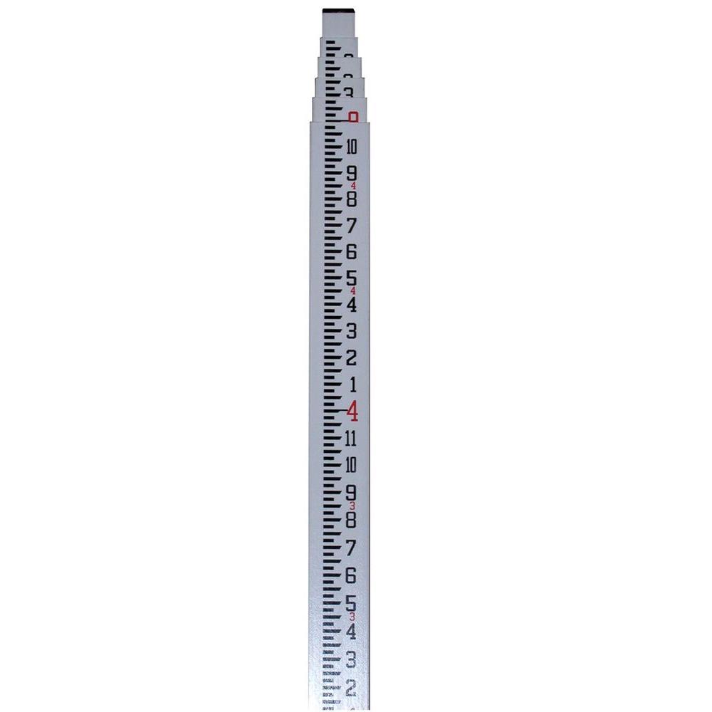 16 ft. Fiberglass Rectangular-Shaped Leveling Telescoping Rod