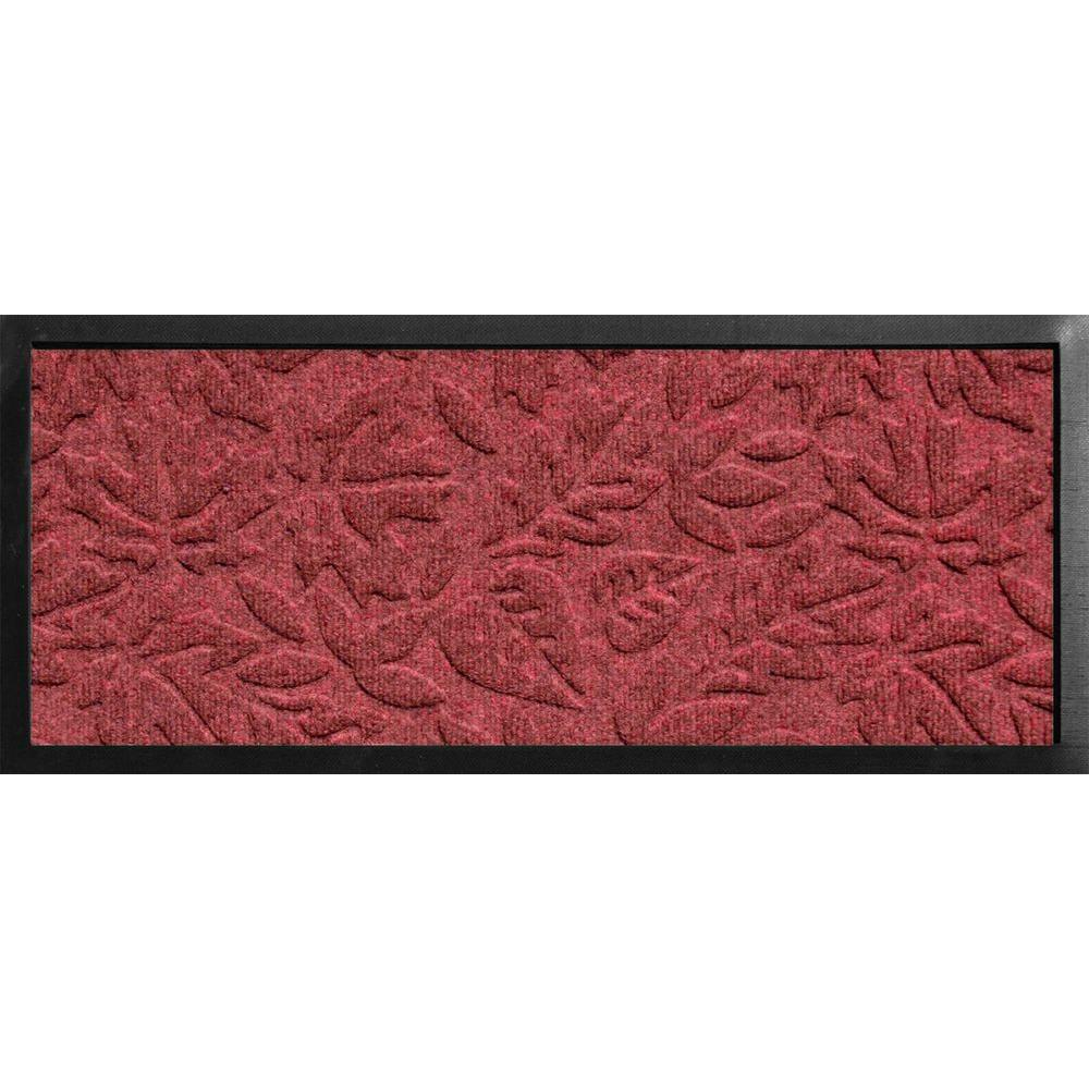 bungalow flooring aqua shield boot tray fall day red black 15 in x 36 in door mat 20446551536. Black Bedroom Furniture Sets. Home Design Ideas