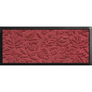 Bungalow Flooring Aqua Shield Boot Tray Fall Day Red/Black 15 inch x 36 inch Door Mat by Bungalow Flooring
