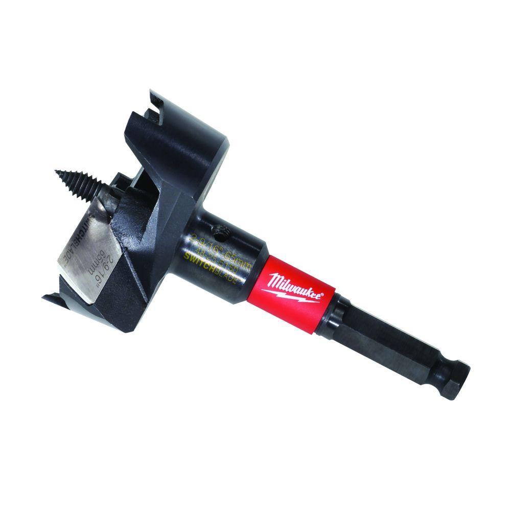 Milwaukee 2-9/16 inch Switchblade Selfeed Drill Bit by Milwaukee