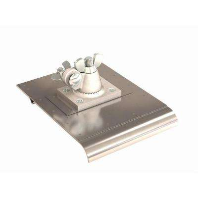 6 in. x 8 in. Stainless Steel Walking Edger/Groover with a Bit Size of 1/4 in. x 1/2 in.