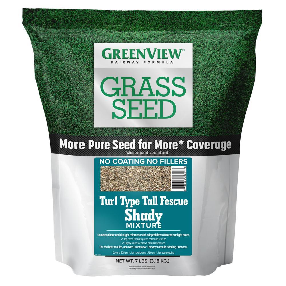 7 lbs. Fairway Formula Grass Seed Turf Type Tall Fescue Shady Mixture