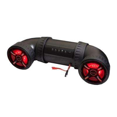 6 in. ATV-TUBE Off Road Bluetooth Speaker System with LED Illumination
