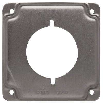 4 in. Square Exposed Work Cover for 30-50 Amp Round Device