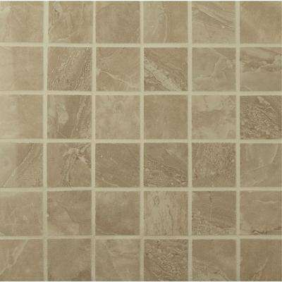 Onyx Royal 12 in. x 12 in. x 10mm Polished Porcelain Mesh-Mounted Mosaic Floor and Wall Tile (8 sq. ft. / case)