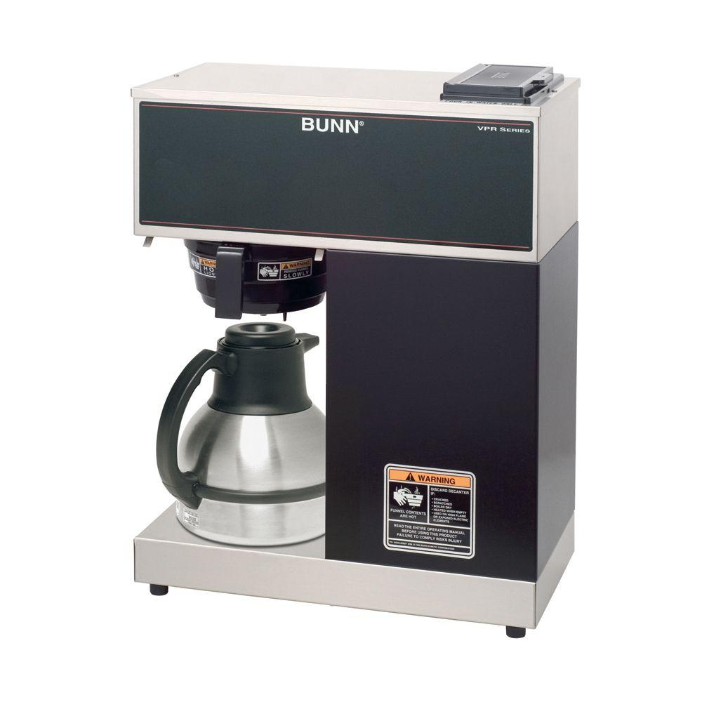 Bunn 12 Cup Pourover Commercial Coffee Brewer Vpr Tc The