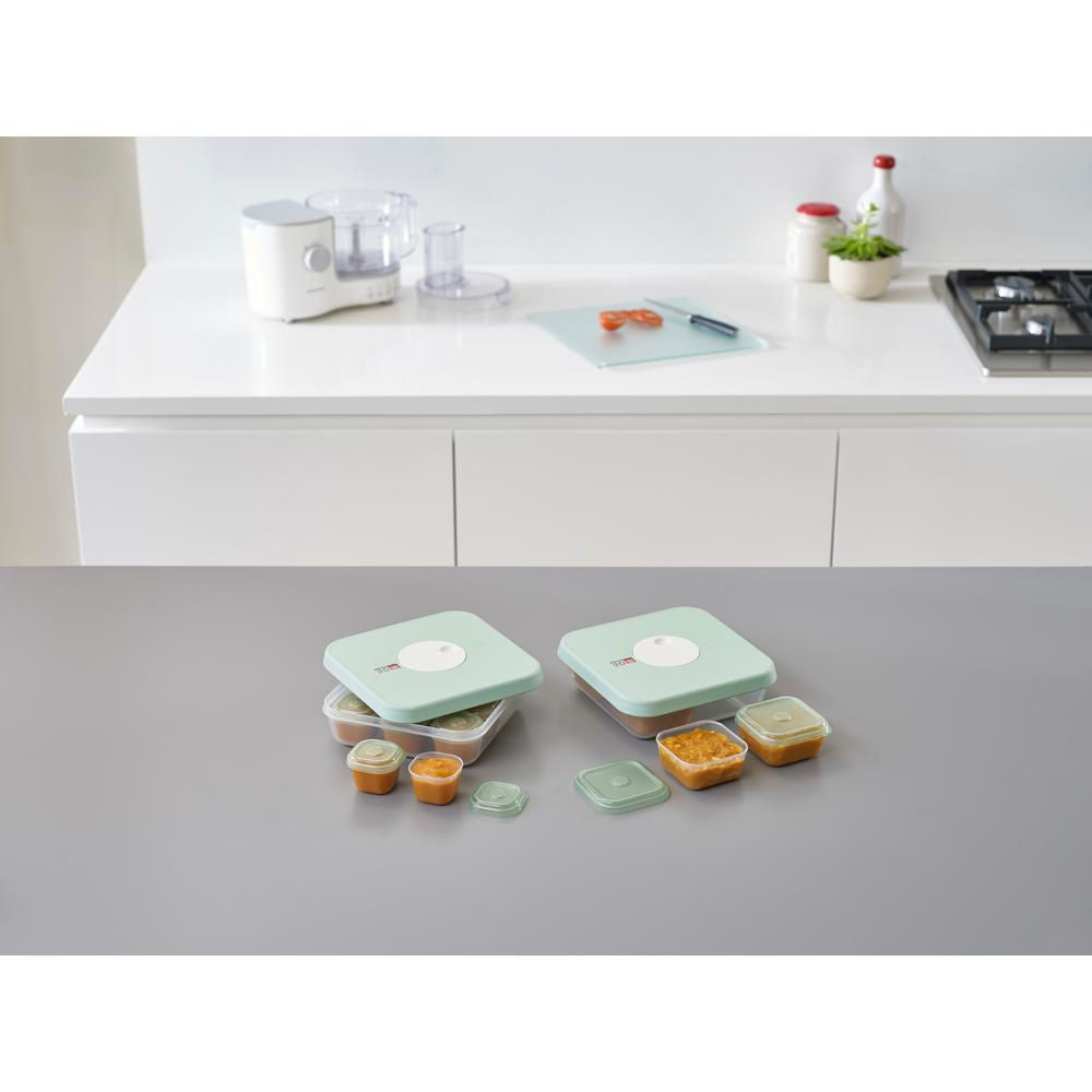 Joseph Joseph Dial Baby Food Storage Container Set With Lids (15 Piece)