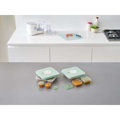 Dial Baby Food Storage Container Set with Lids (15-Piece)